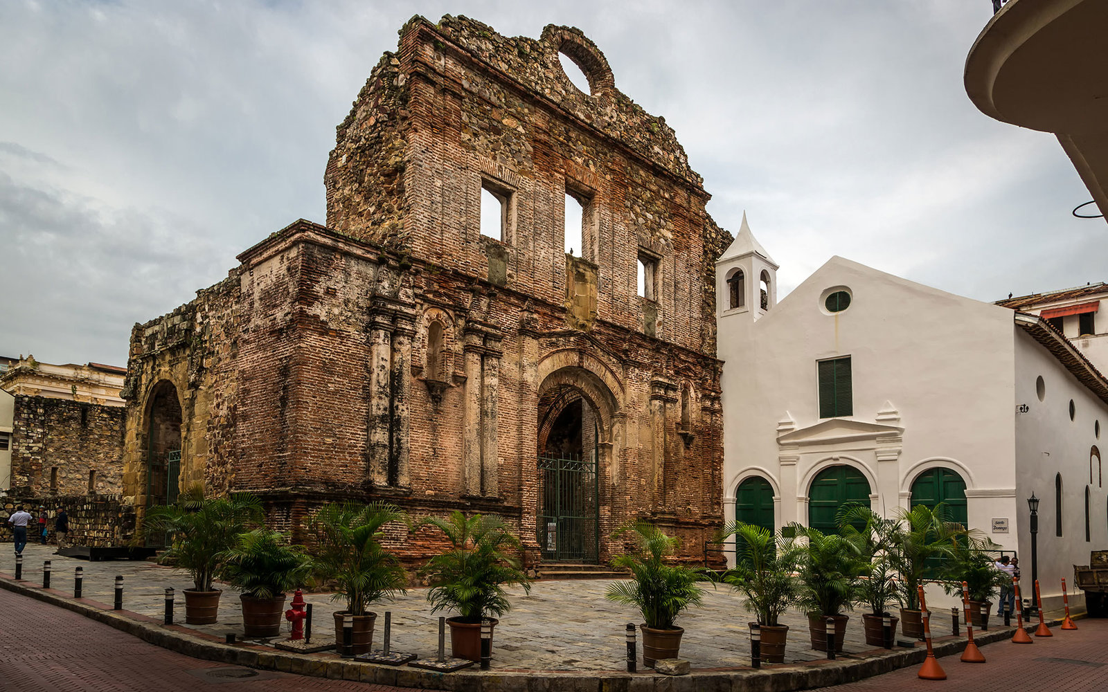 Panama City, Panama - November 20th 2013 - Old building in the old town of Panama City in Panama, Central America; Shutterstock ID 332193992