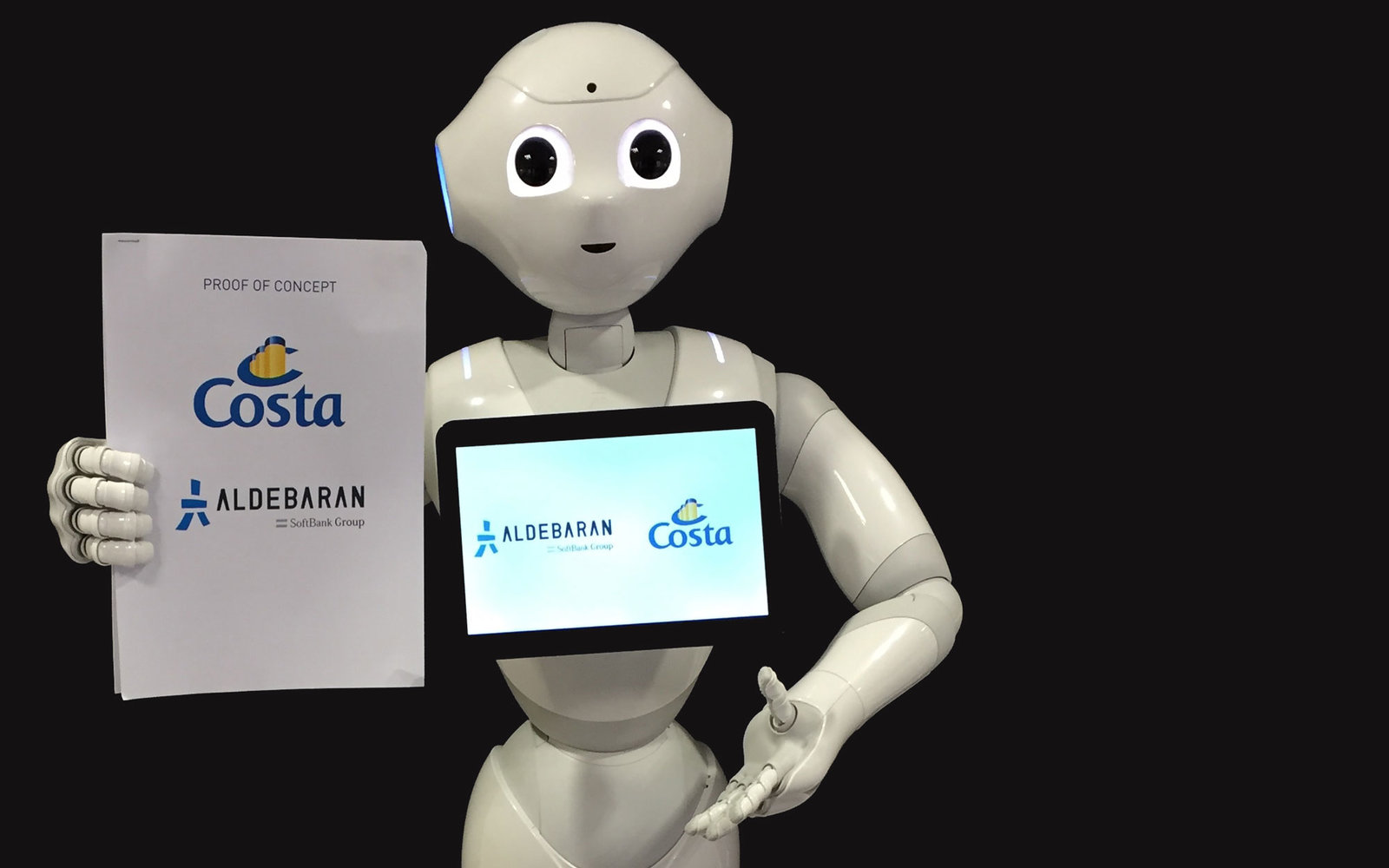 Costa Cruise Line S Pepper The Robot Travel Leisure