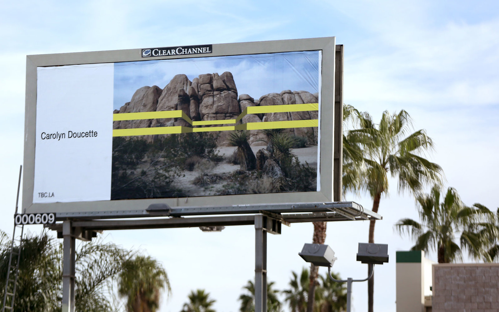 Creative Art Billboard Los Angeles Carolyn Doucette