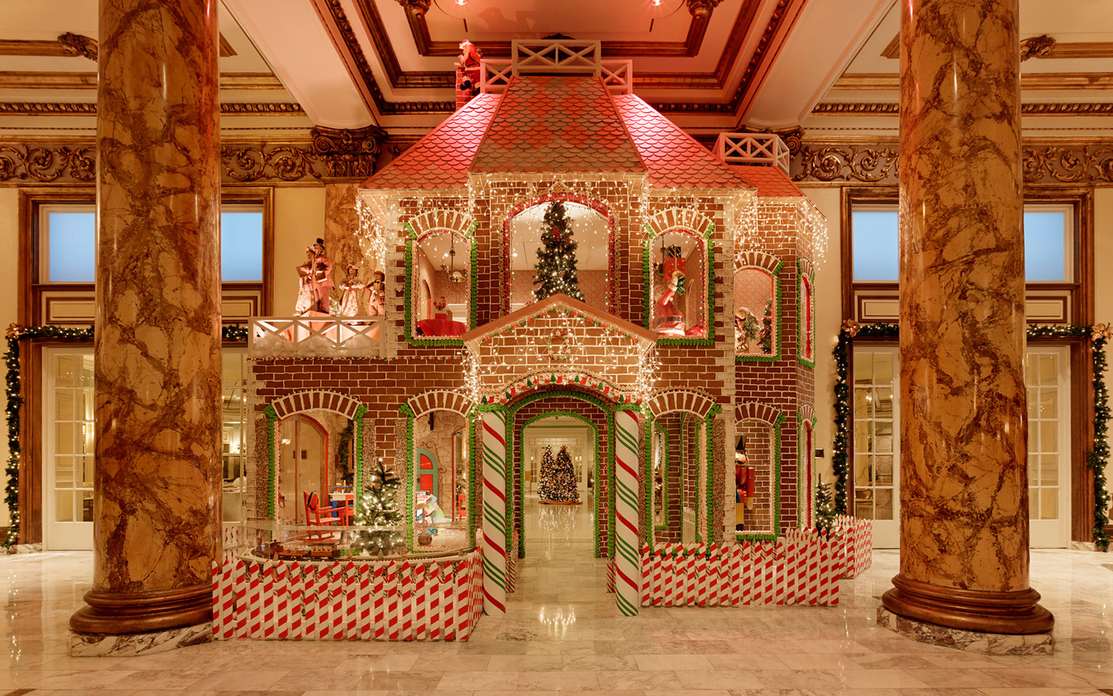 The best hotel gingerbread houses travel leisure for Royal court apartments san francisco