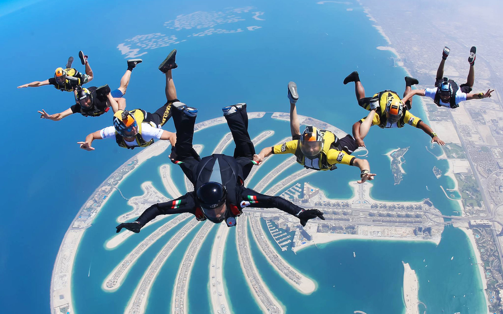 Skydive Dubai Travel Leisure