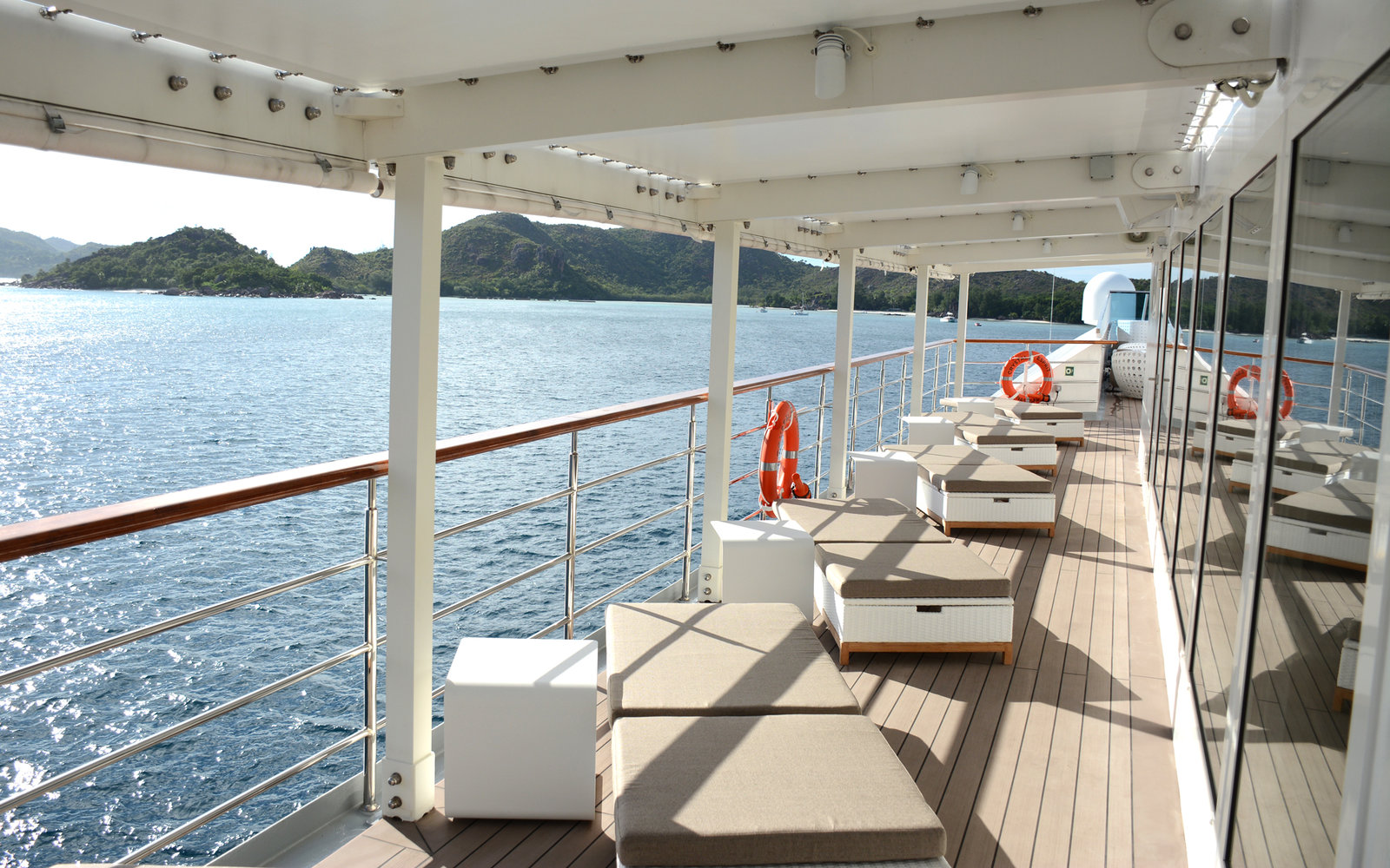 On Board The New Crystal Esprit Yacht Travel Leisure