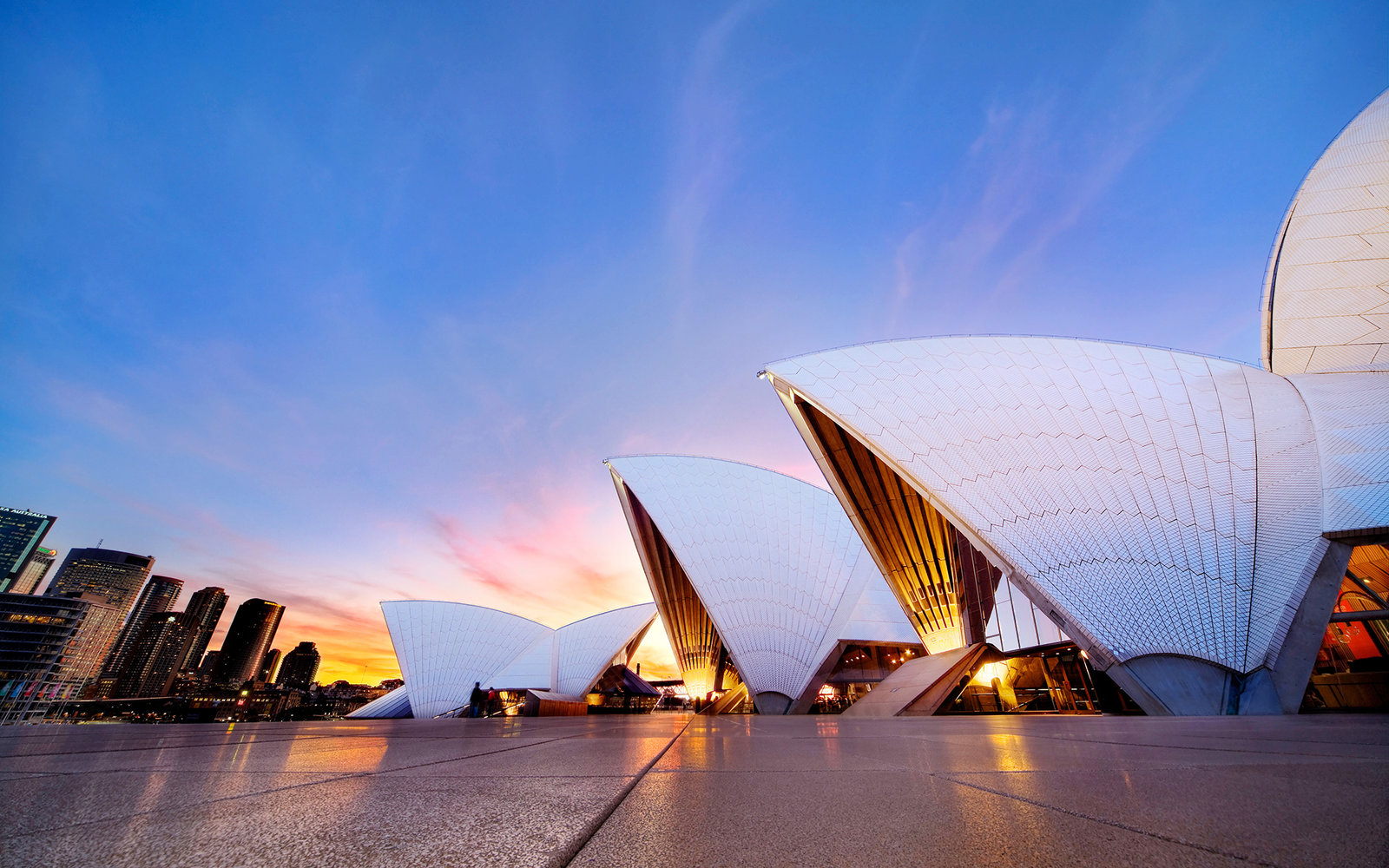 The Sydney Opera House Landing Page Tile
