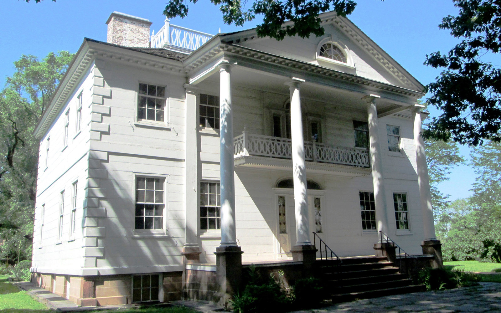 Morris-Jumel Mansion in Washington Heights