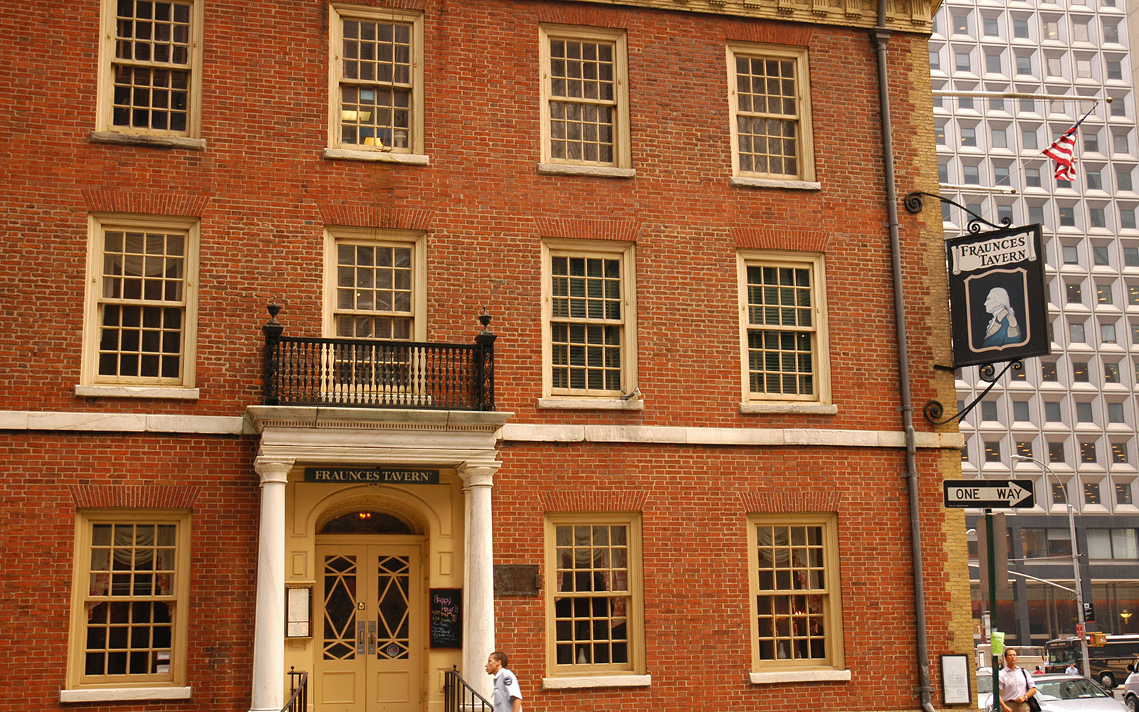 AWDR2J Fraunces Tavern Financial District Manhattan New York USA