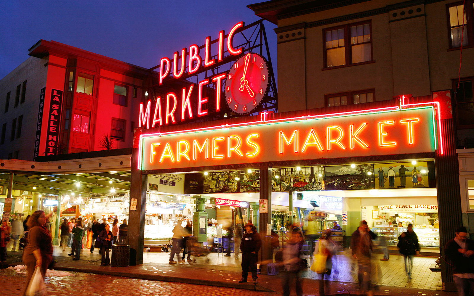 Pike Place Market Travel Leisure