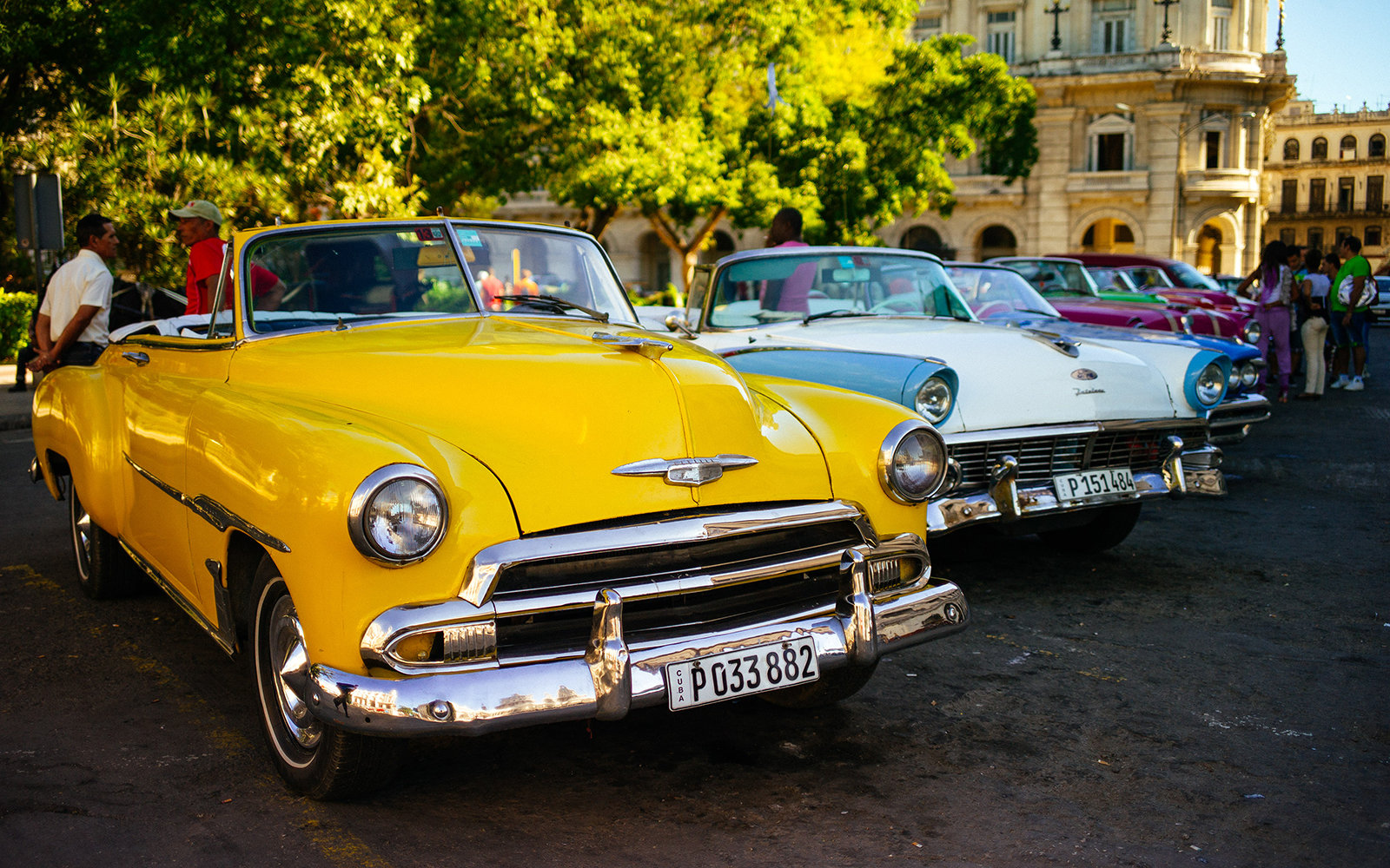 Photos Of Cuba's Classic Cars