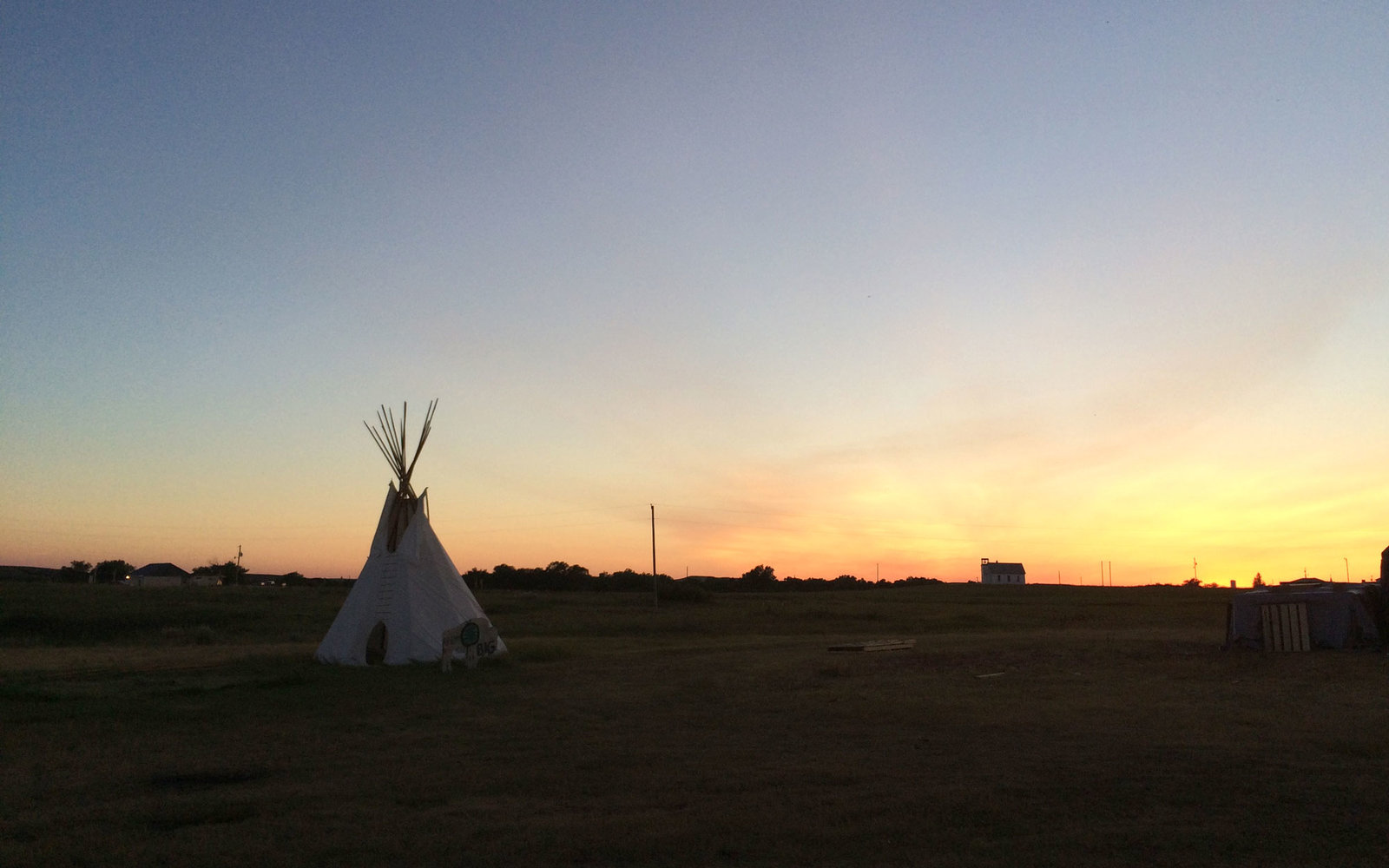 Living on the Cheyenne River Sioux Tribe Reservation