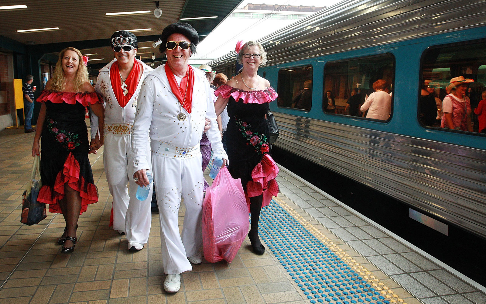 Elvis Birthday Train