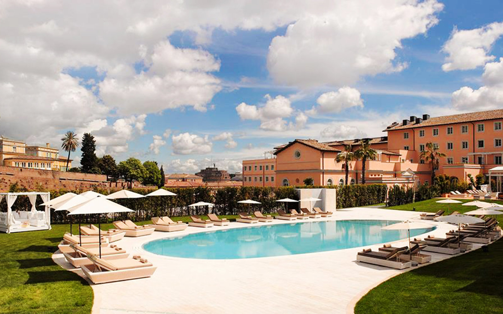 Gran meli villa agrippina travel leisure for Hotel gran melia villa agrippina rome