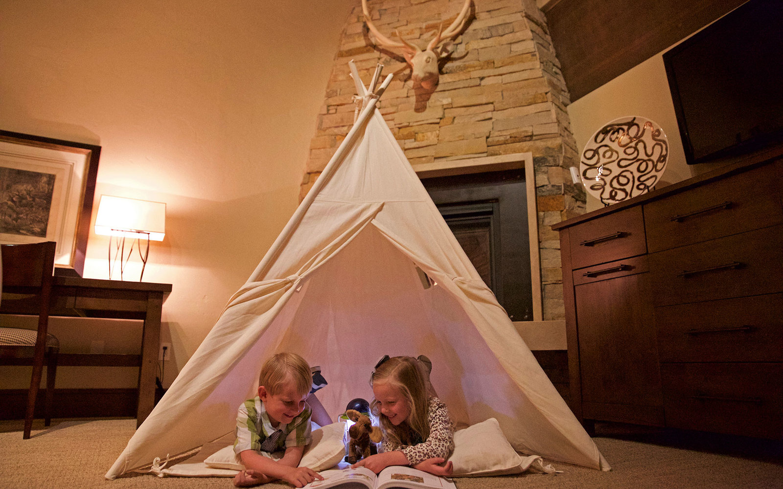 indoor tents & Six Hotels with Indoor Camping | Travel + Leisure