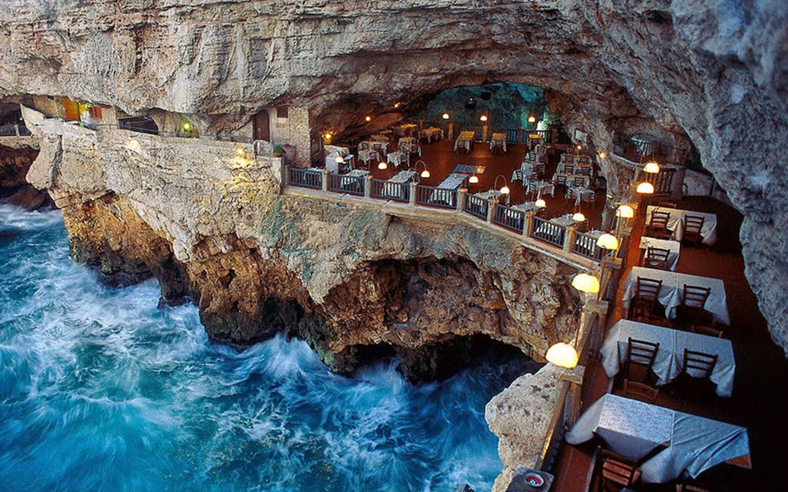 is this the most romantic restaurant in the world? | travel + leisure