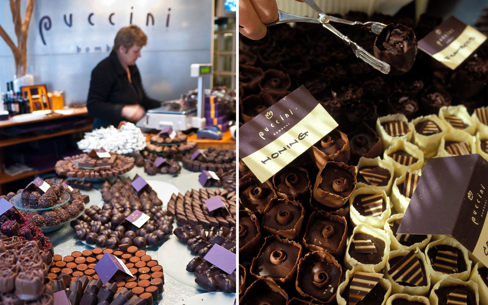 EYFCGW Puccini Bomboni, Chocolate Shop, Staalstraat 17, Amsterdsam, Netherlands.