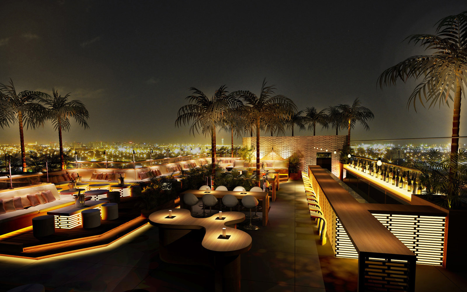 Best Bars with Skyline Views in Dubai