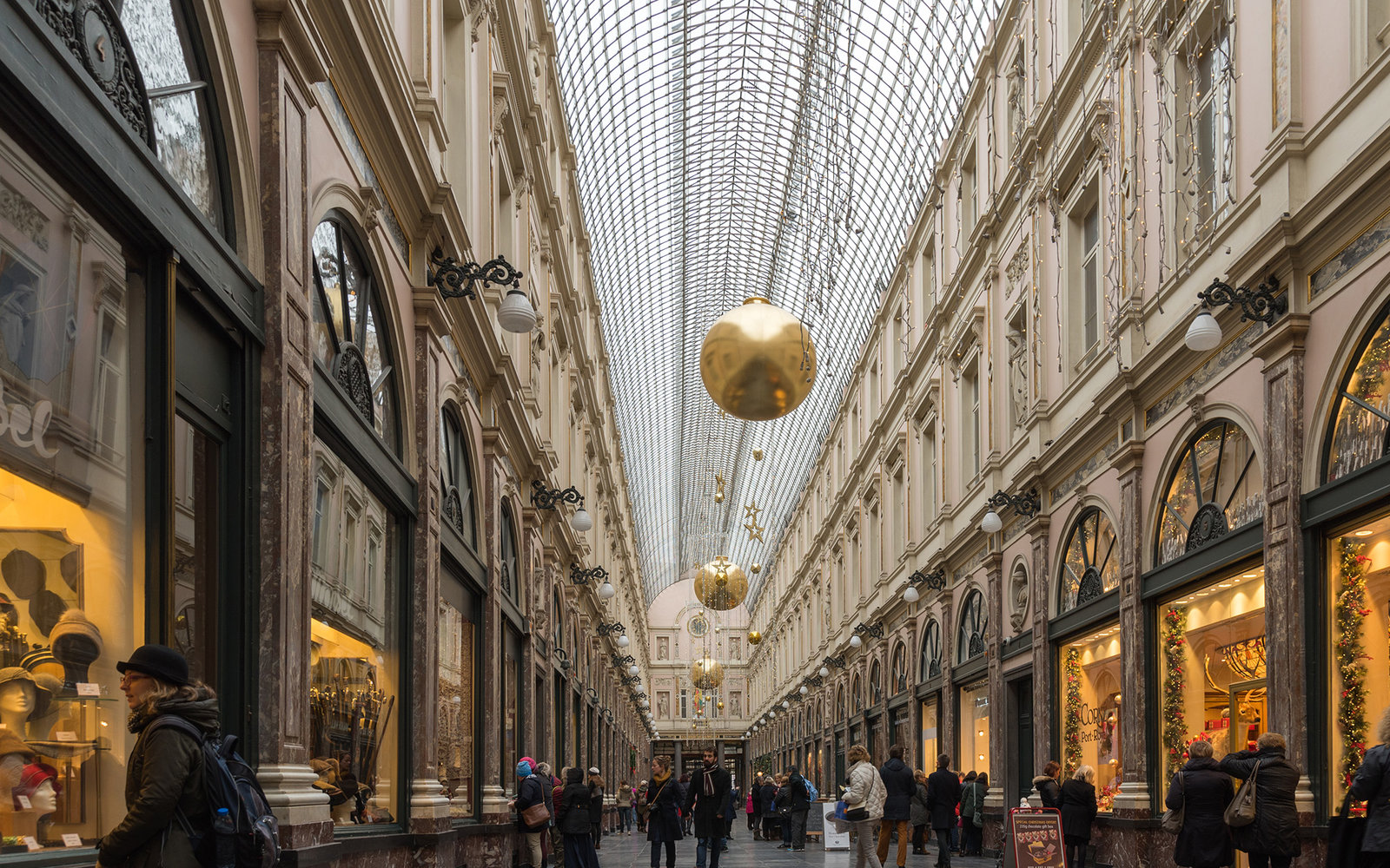 Galeries Royales Saint-Hubert Brussels