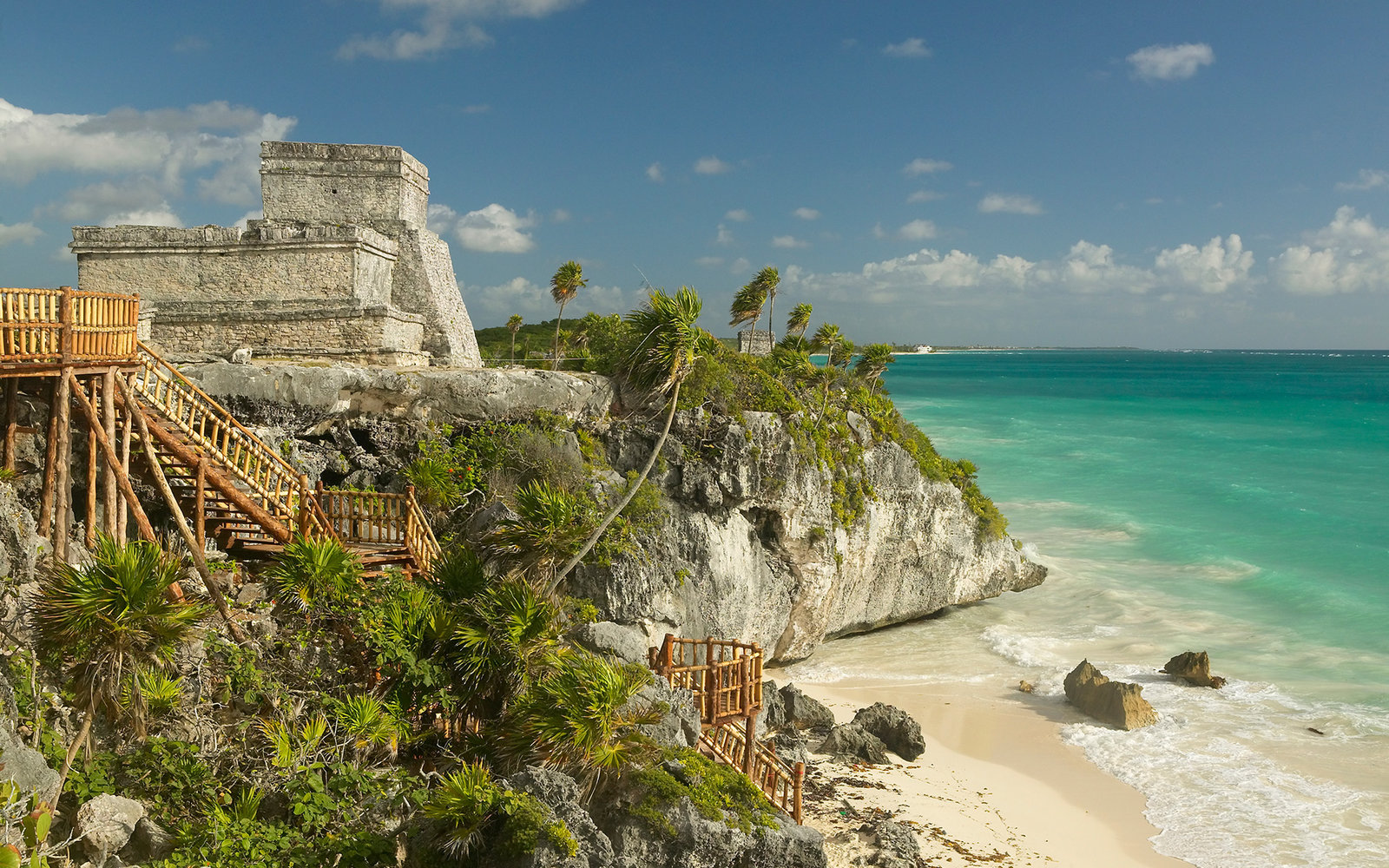 The Mayan ruins in Tulum, Mexico