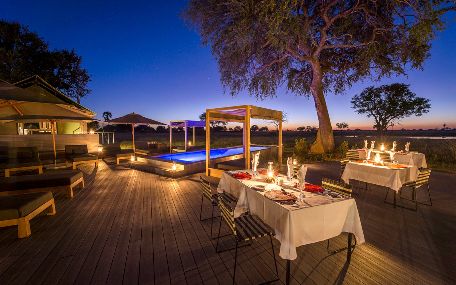 Wilderness Safaris Linkwasha Camp in Hwange National Park, Zimbabwe
