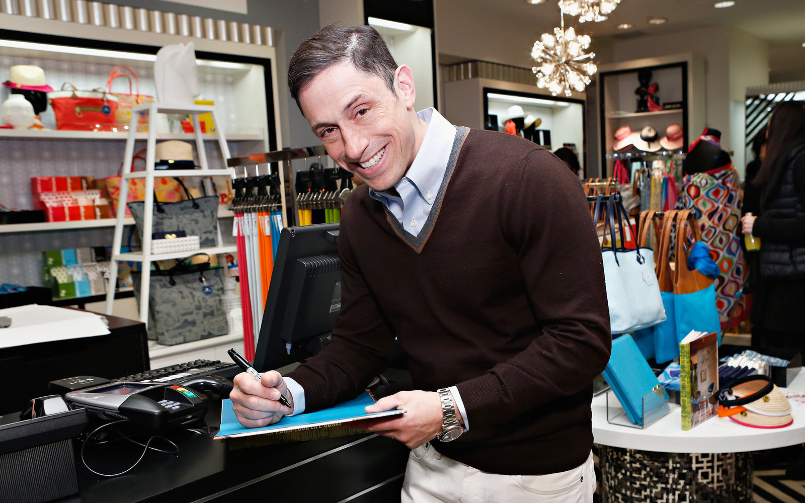 NEW YORK, NY - MARCH 01:  Designer Jonathan Adler attends the Bloomingdale's 59th Street  launch of the Jonathan Adler Accessories Collection at Bloomingdale's 59th Street Store on March 1, 2013 in New York City.  (Photo by Cindy Ord/Getty Images for Bloo