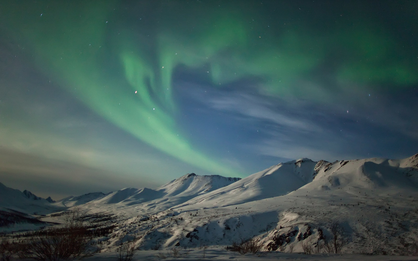 See the Northern Lights in Yukon Territory
