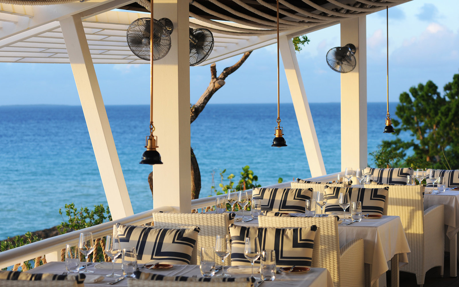The Sunset Bar in Malliouhana, An Auberge Resort, Anguilla