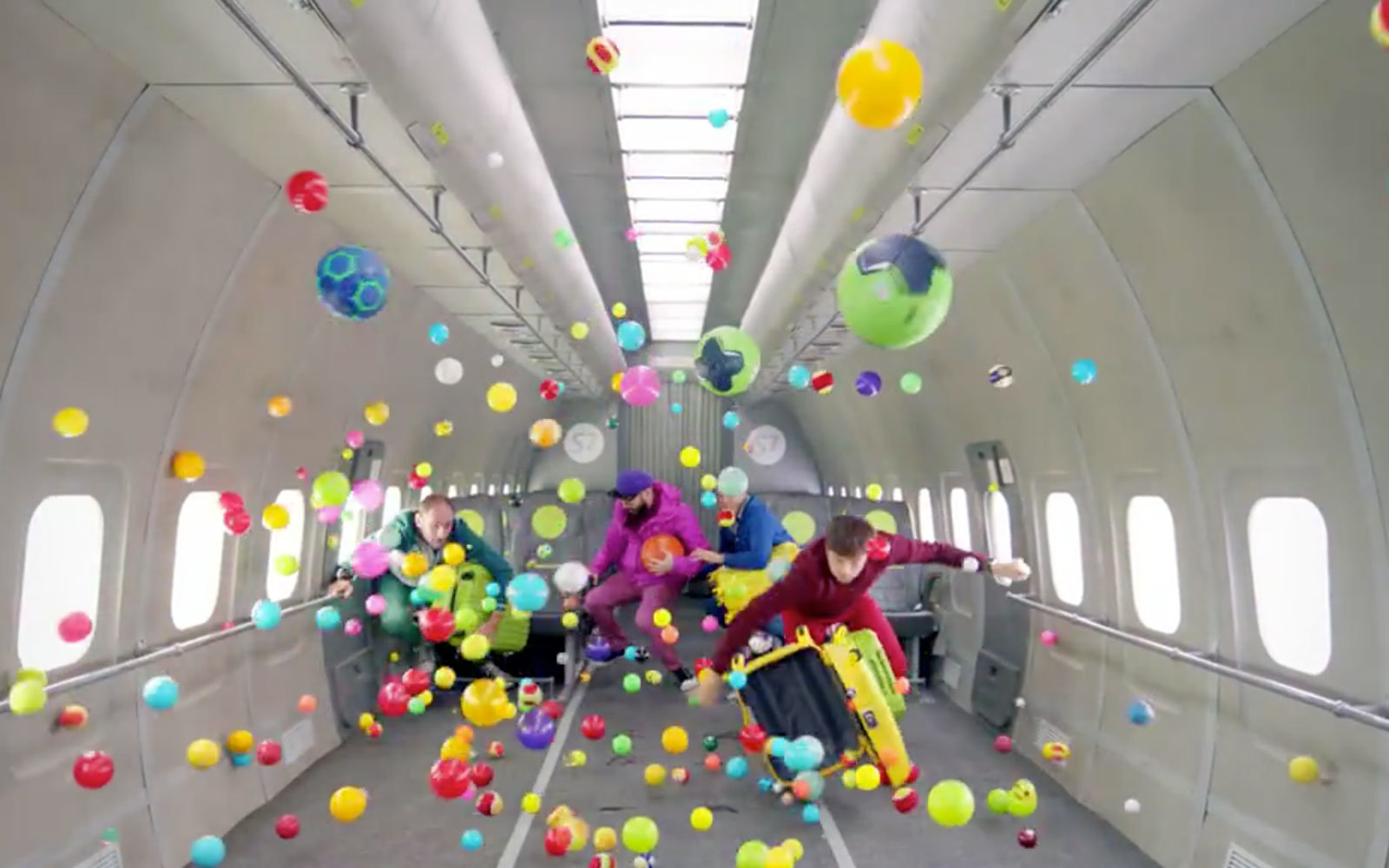 OK Gos New Music Video Features A Zero Gravity Airplane