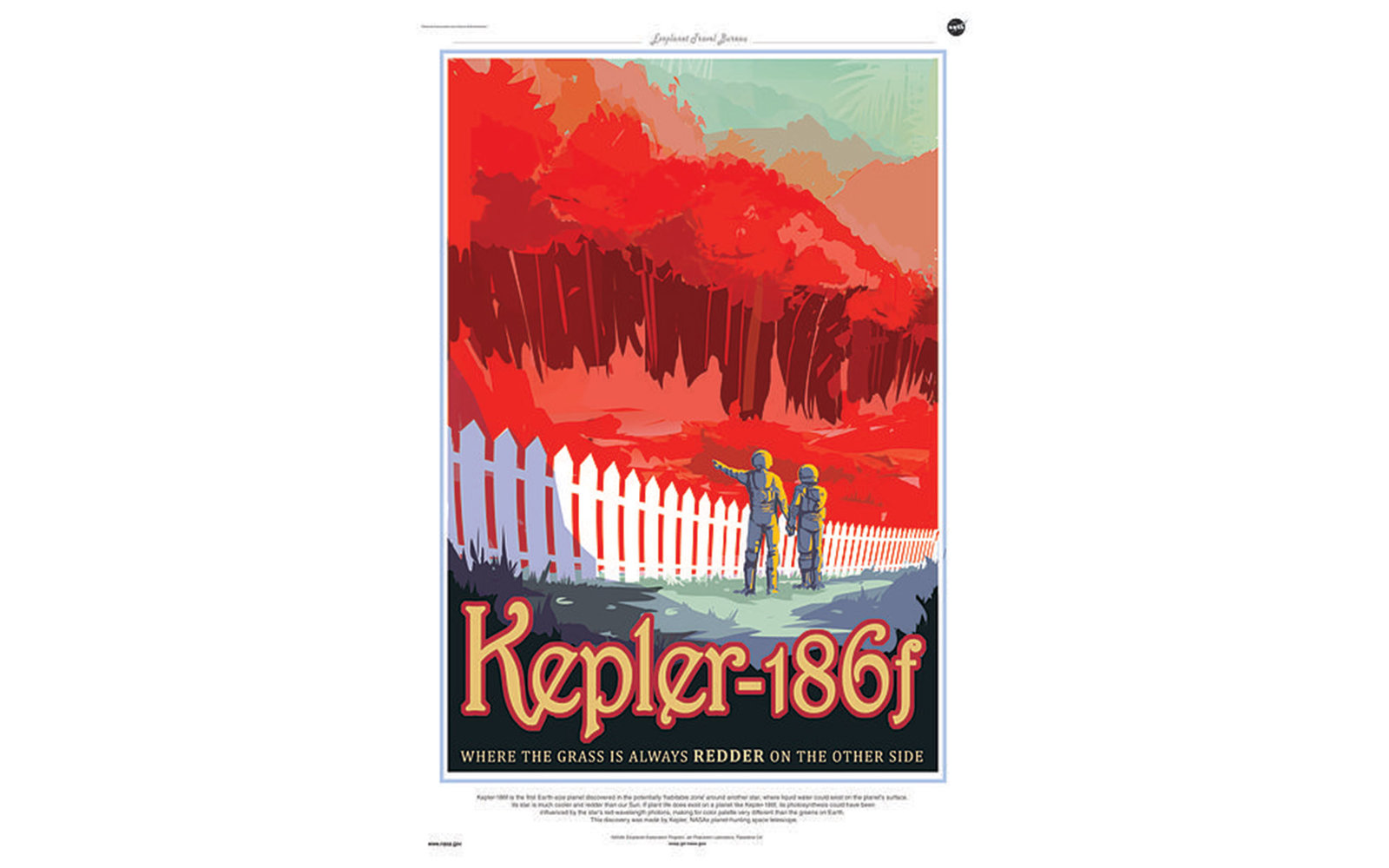 NASAs New Space Travel Posters Are The Vision Of The Future - Retro style posters from nasa imagine how the future of space travel will look