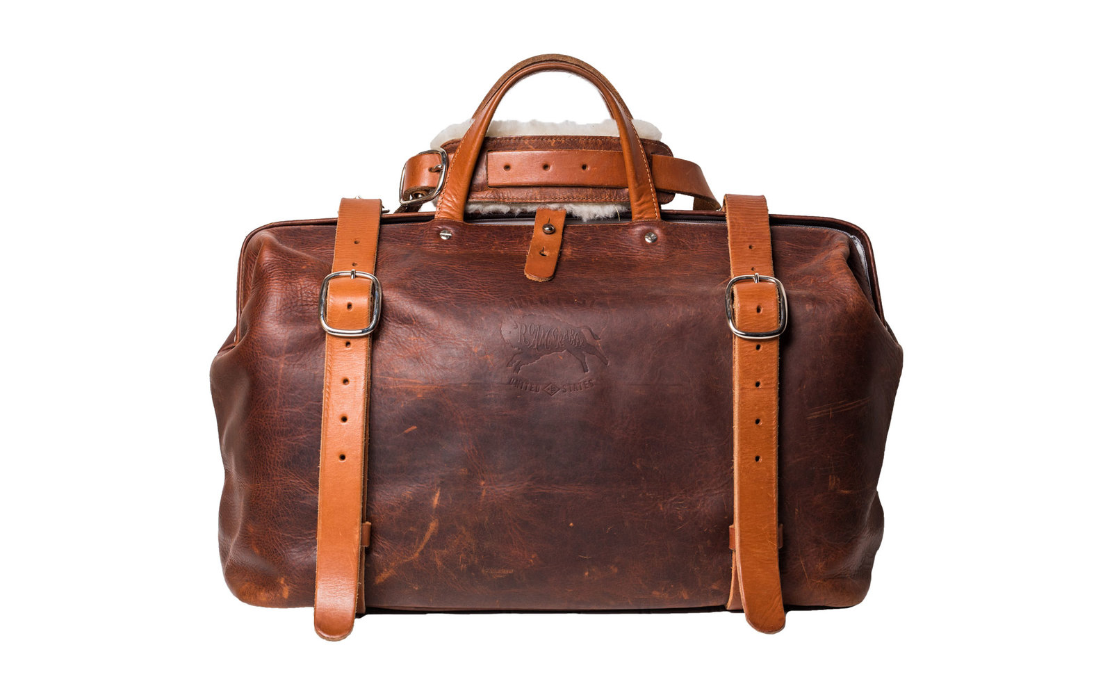 Hold Fast Roamographer Brown Leather Camera Bag
