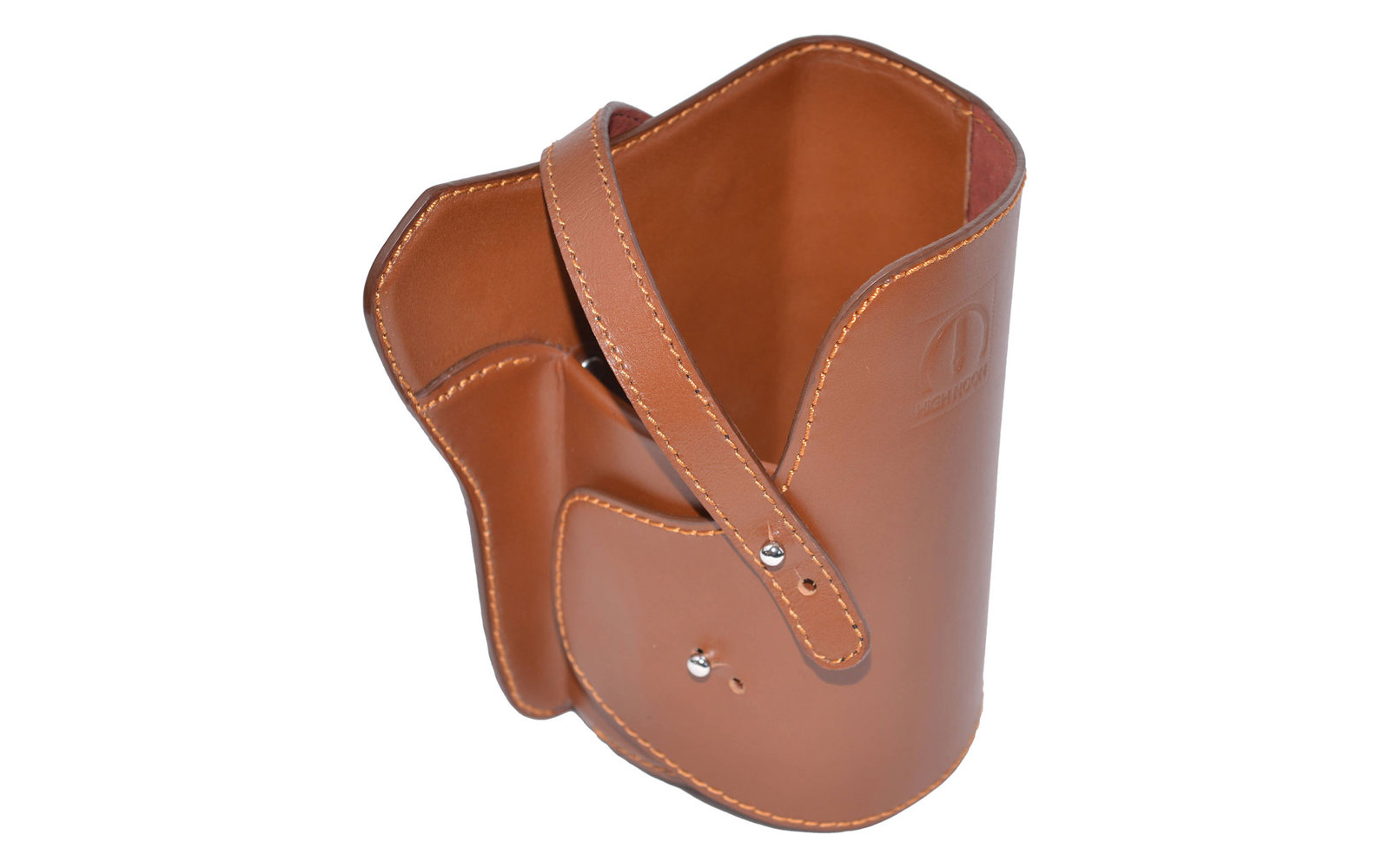 High Noon Camera Holster Brown Leather