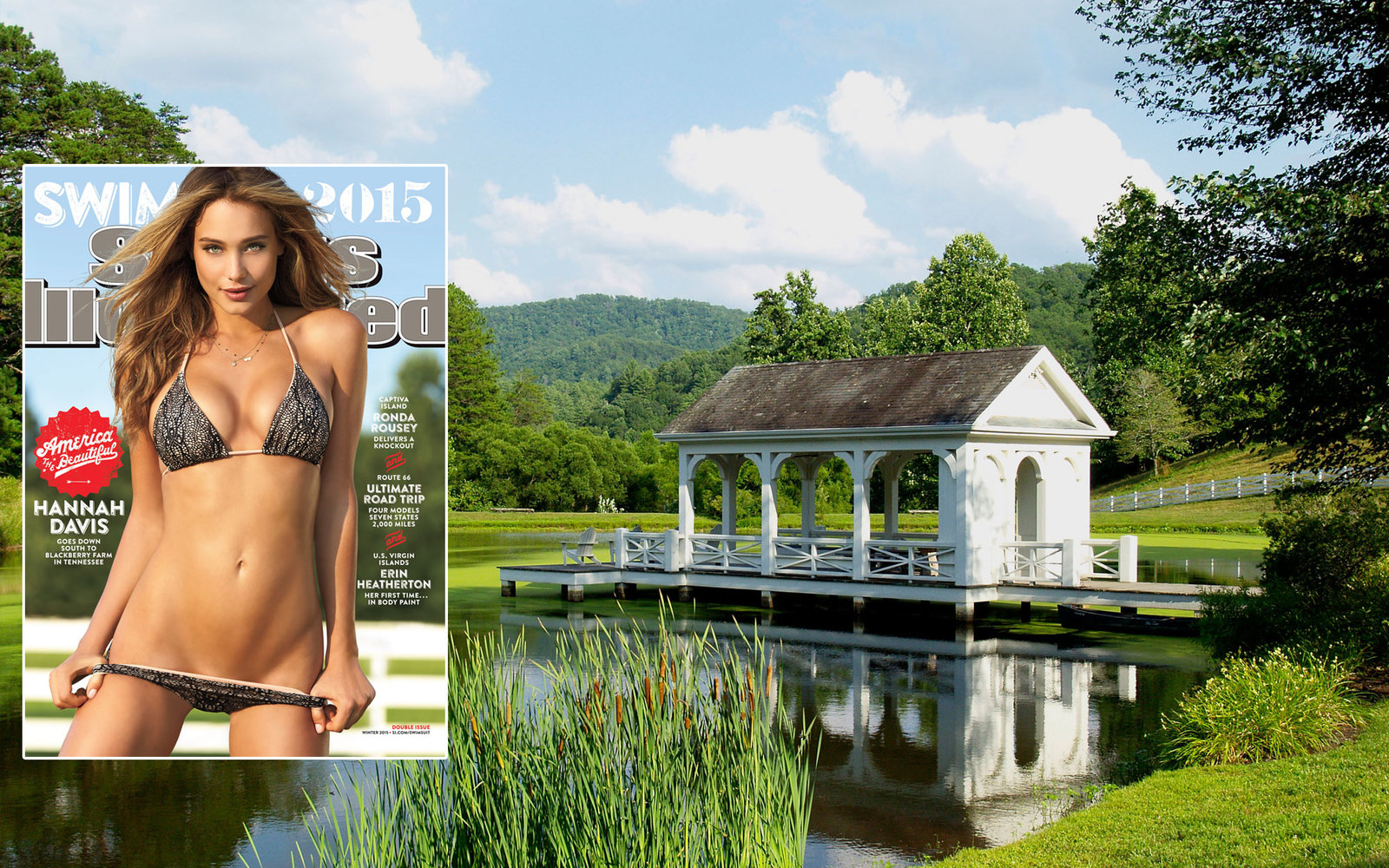 Sports Illustrated Swimsuit Issue 2015 Blackberry Farm Tennessee
