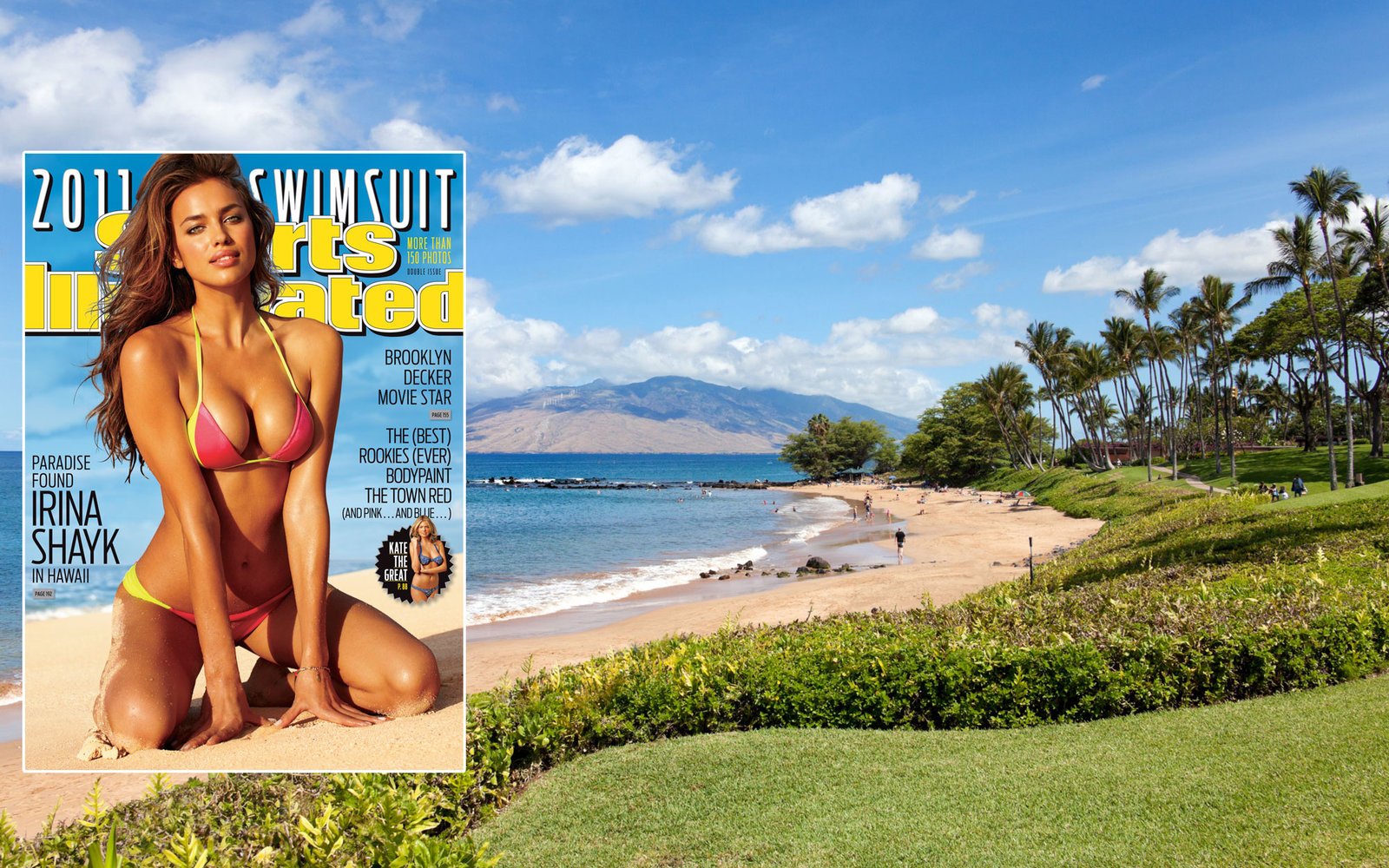 Sports Illustrated Swimsuit Issue 2011 Waliea Hawaii