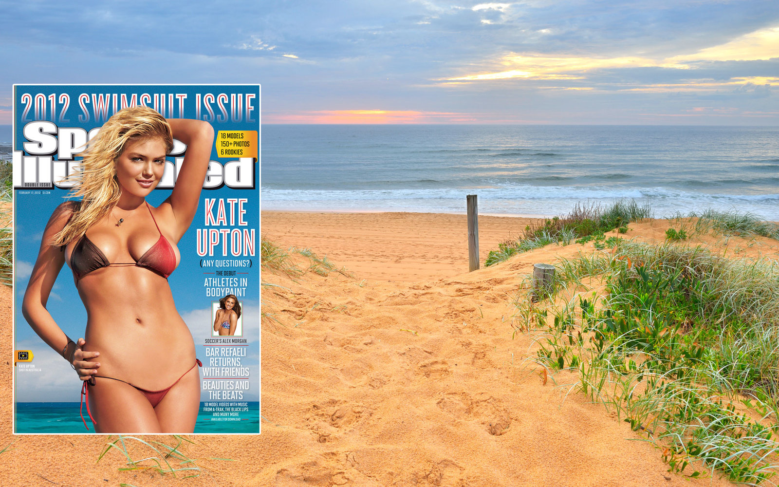 Sports Illustrated Swimsuit Issue 2012 North Narrabeen Beach New South Wales