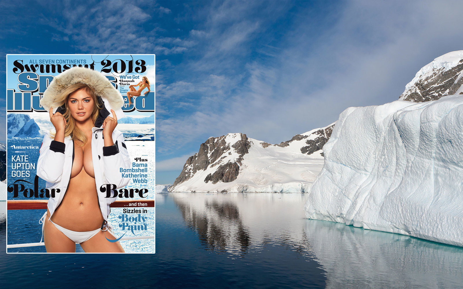 Sports Illustrated Swimsuit Issue 2013 Antarctica