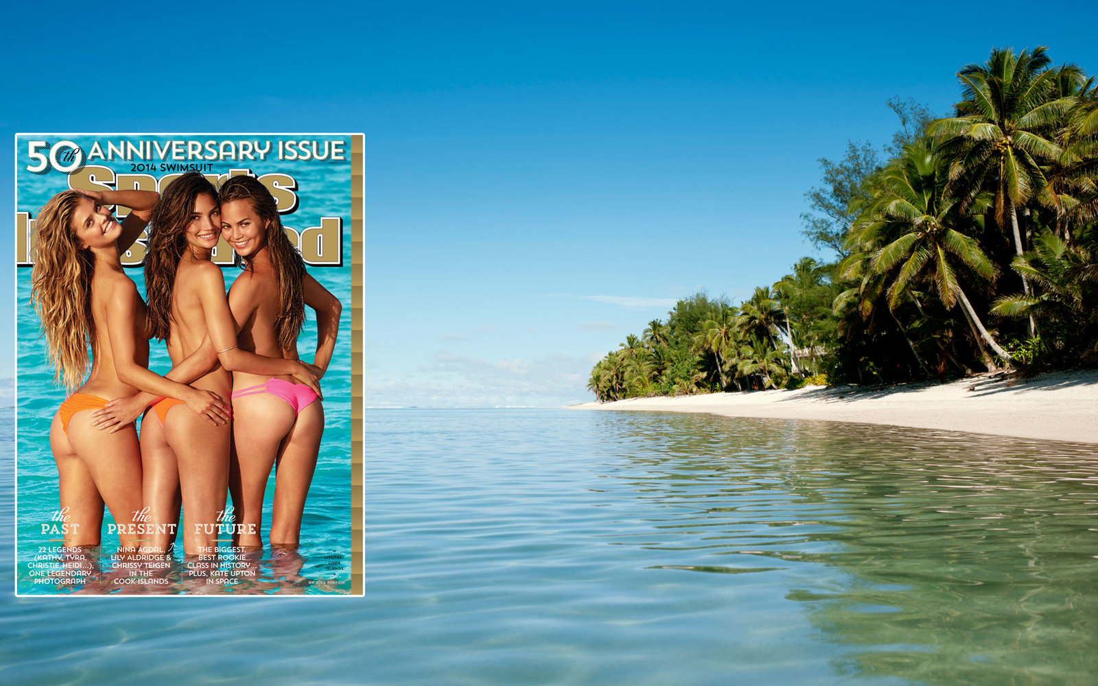 Sports Illustrated Swimsuit Issue 2014 Rarotonga Cook Islands New Zealand