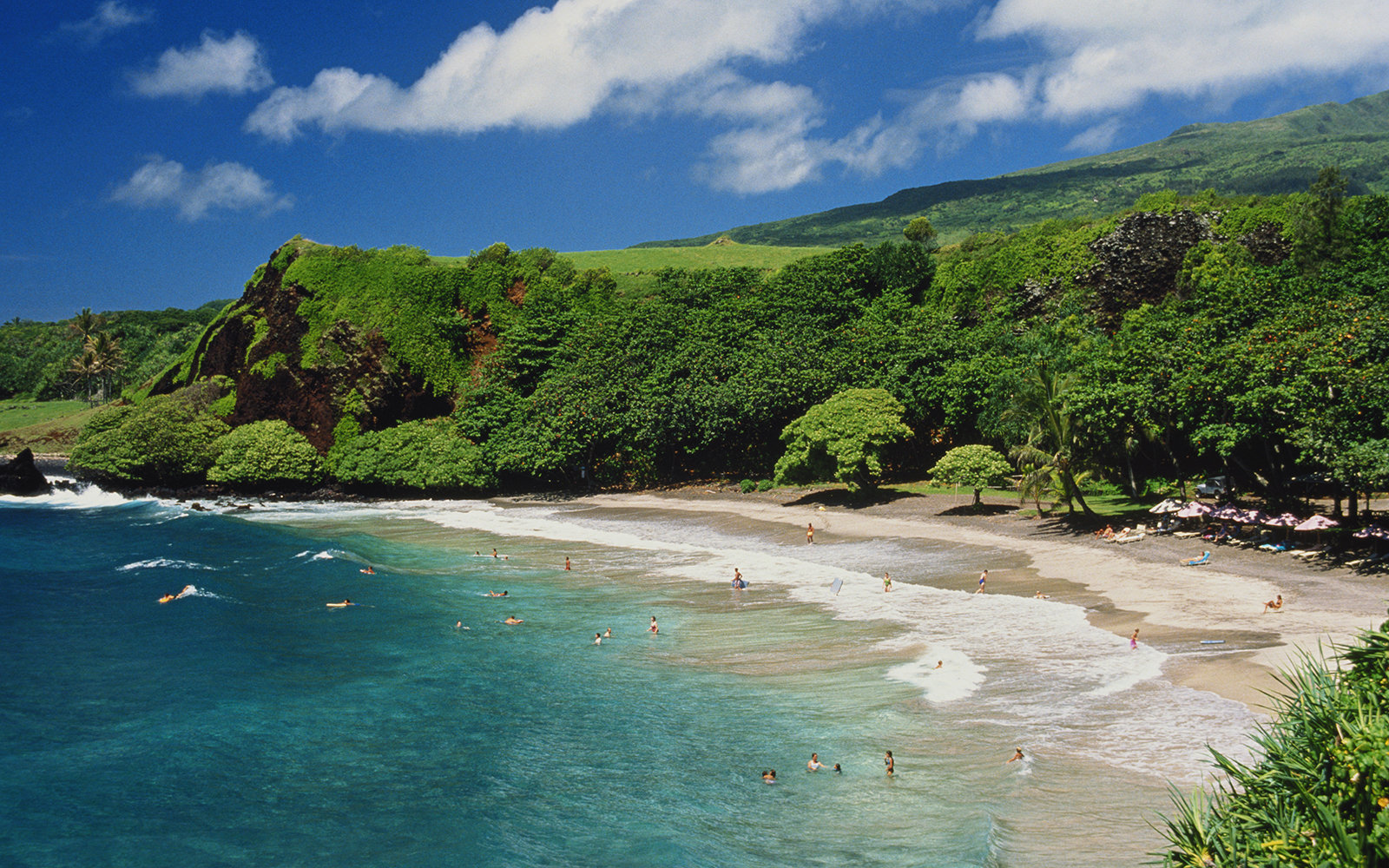 USA, Hawaii, Maui, Hamoa Beach