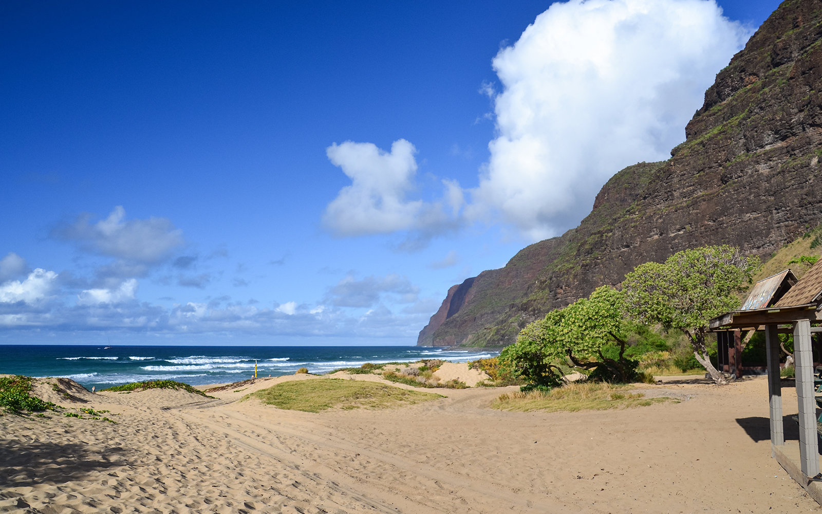 Polihale Beach State Park - Kauai, Hawaii, USA