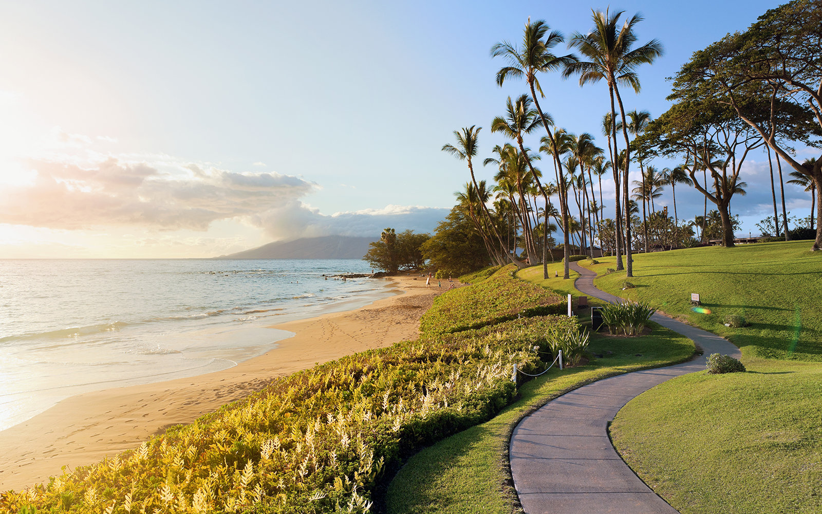 Wailea beach, Hawaii