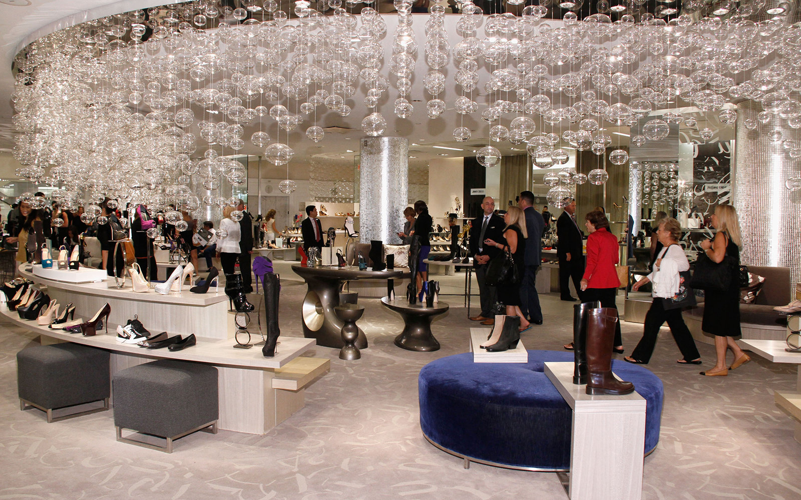 NEW YORK, NY - SEPTEMBER 06:  A general view of atmosphere at Fashion's Night Out at Saks Fifth Avenue on September 6, 2012 in New York City.  (Photo by Janette Pellegrini/Getty Images for Saks Fifth Avenue)