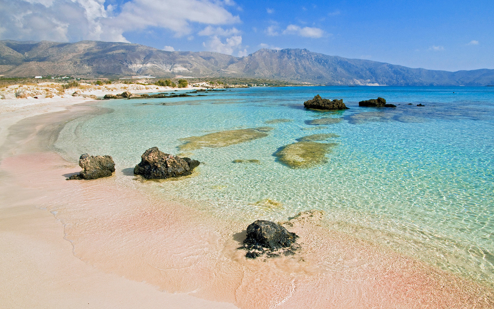 Elafonisi beach, Chania, Crete Island, Greece