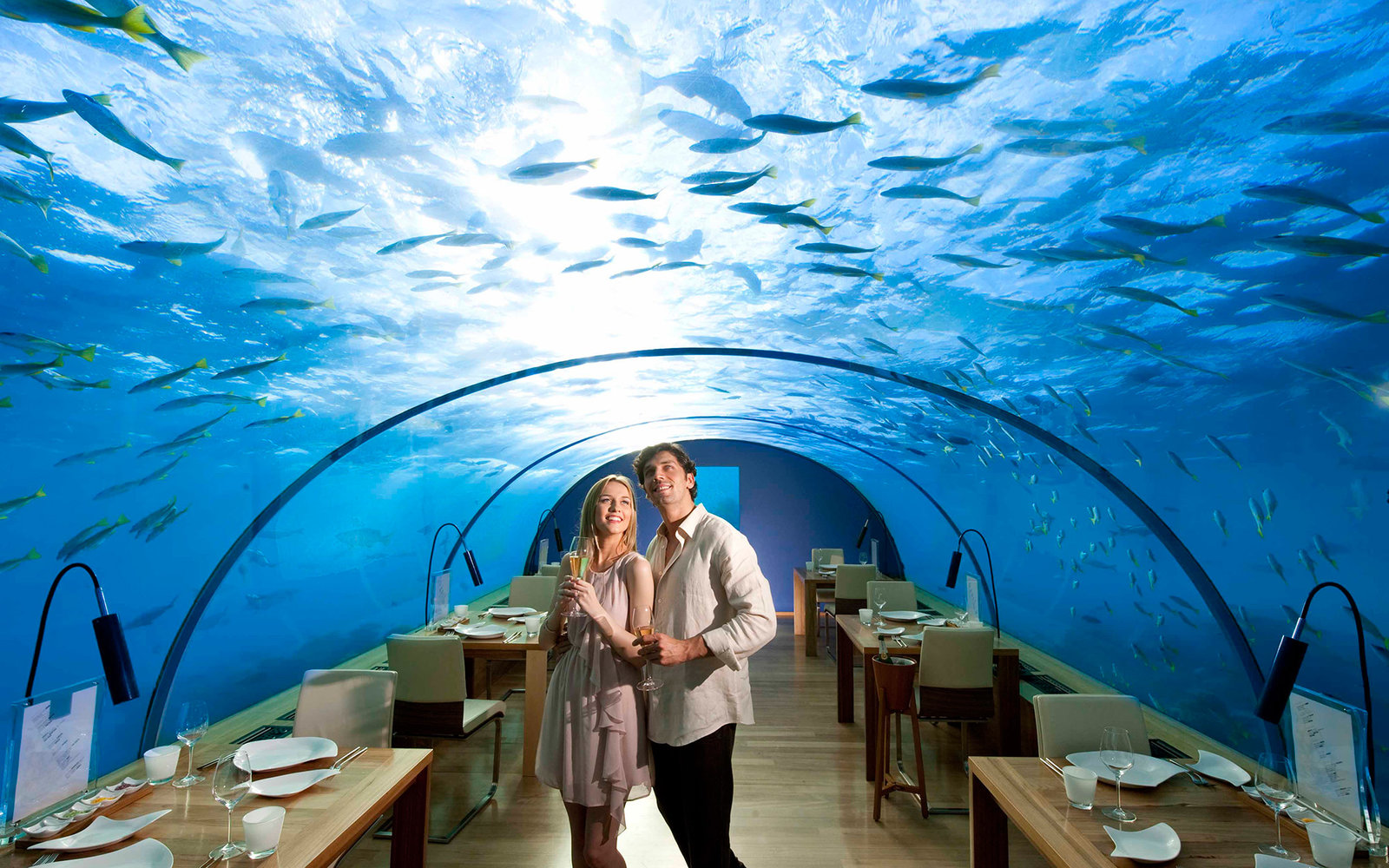 worlds strangest restaurants travel leisure - Underwater World Restaurant