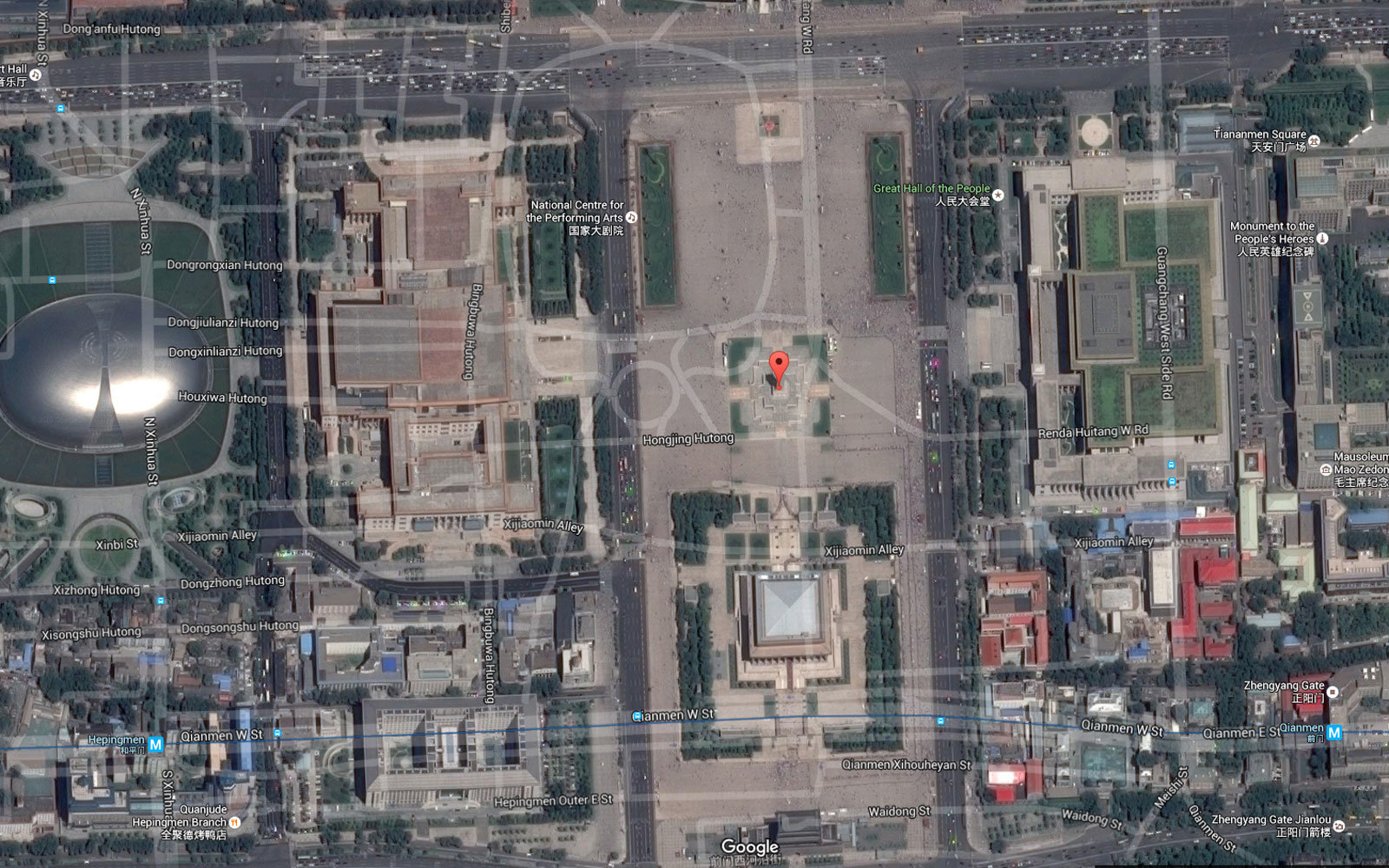 Why Digital Maps Are Inaccurate In China Travel Leisure - Chicago map gps