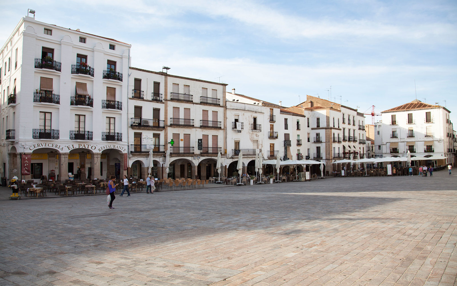 Plaza Mayor of Caceres