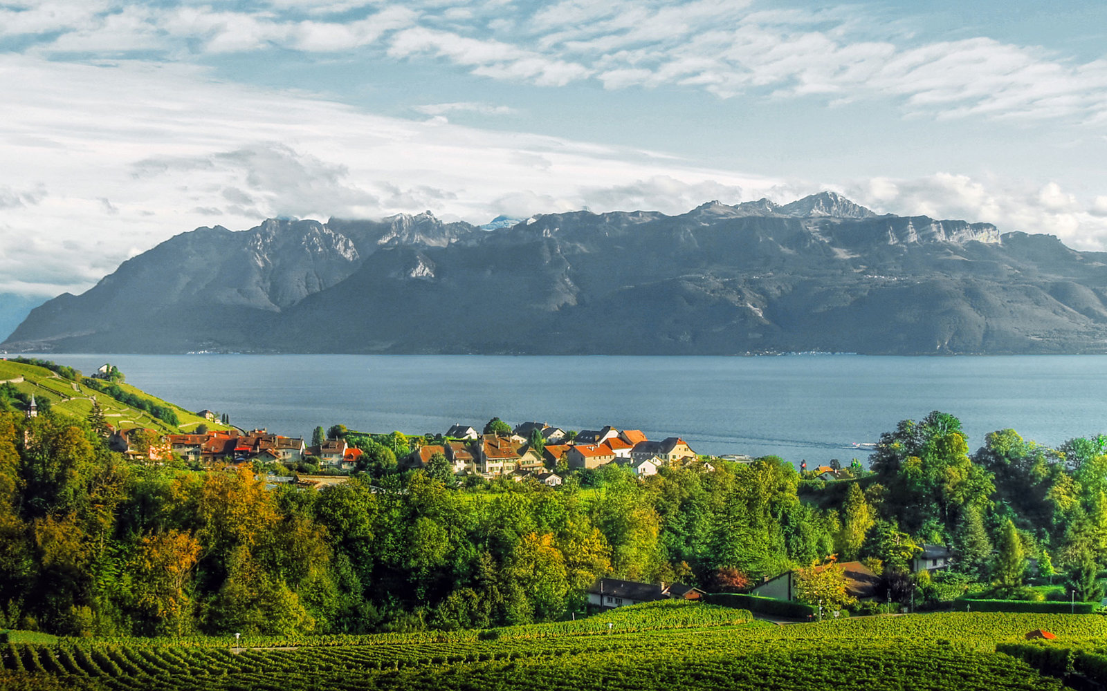 Bern to Lausanne, Switzerland