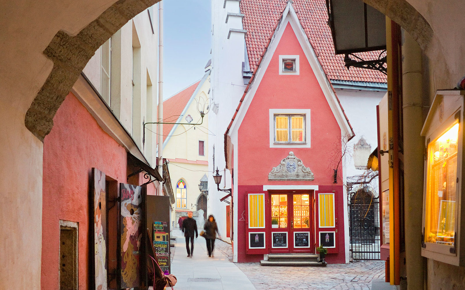 Saia Kaik or White Bread Passage, Tallin, Estonia