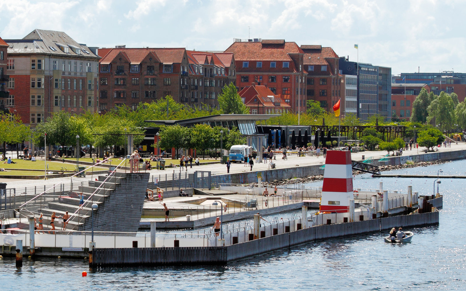 Islands Brygge Harbour Bath Travel Leisure
