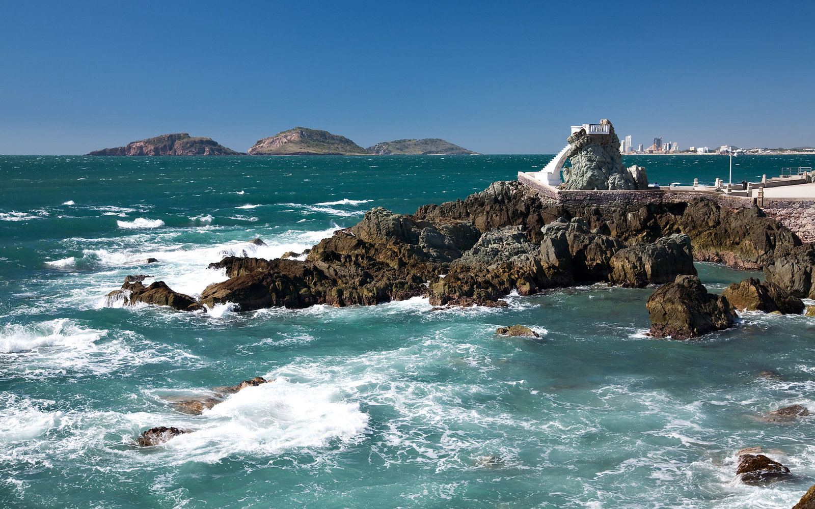 Lookout in Mazatlan Mexico