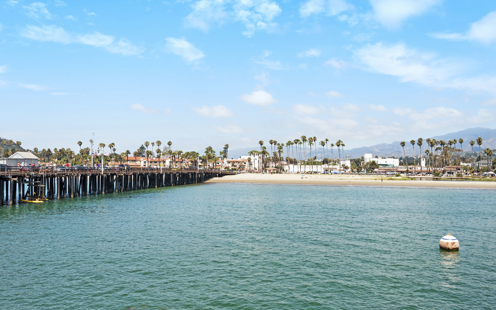 Stearns Wharf, East & West Beach, Santa Barbara
