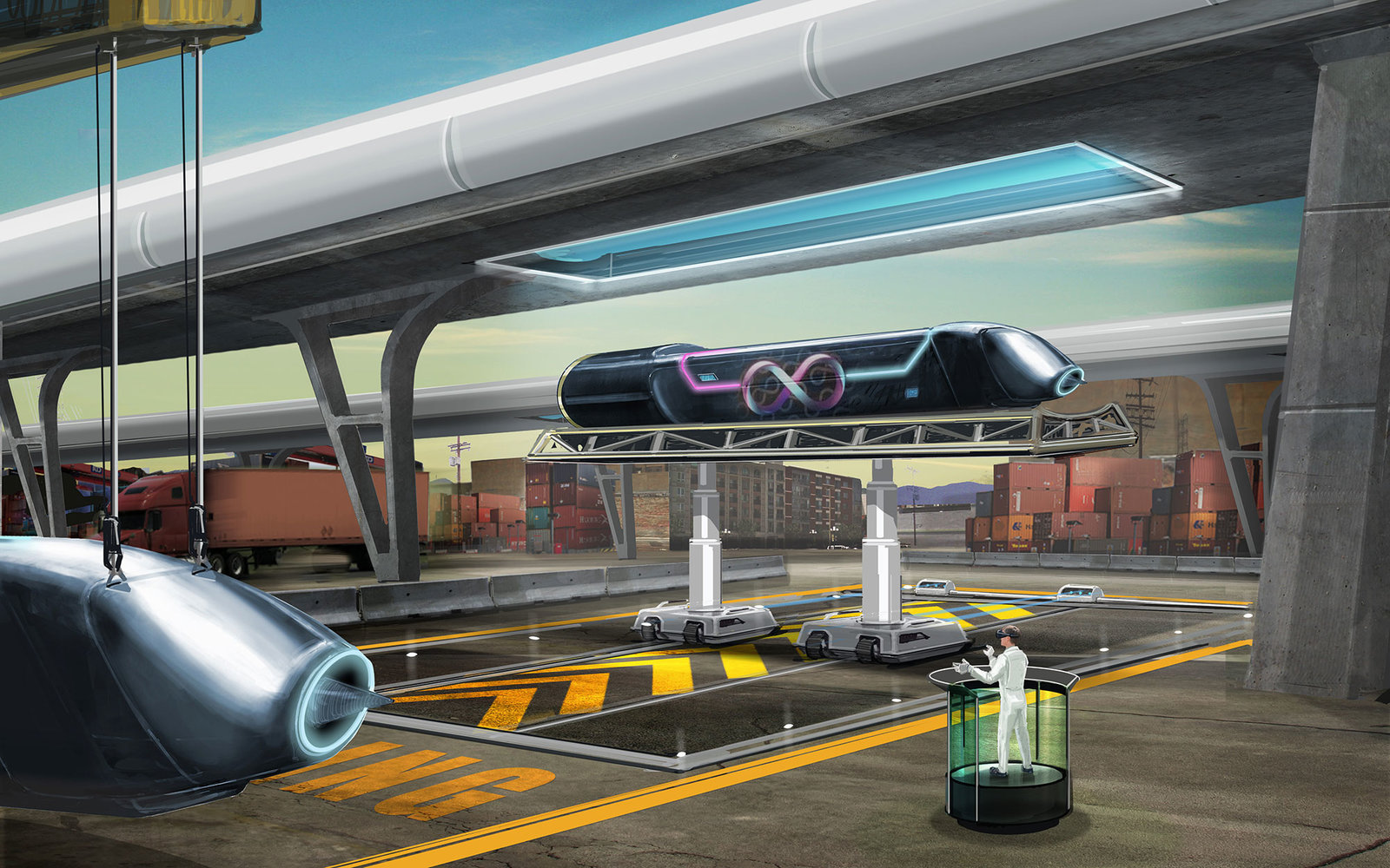 Hyperloop rendering