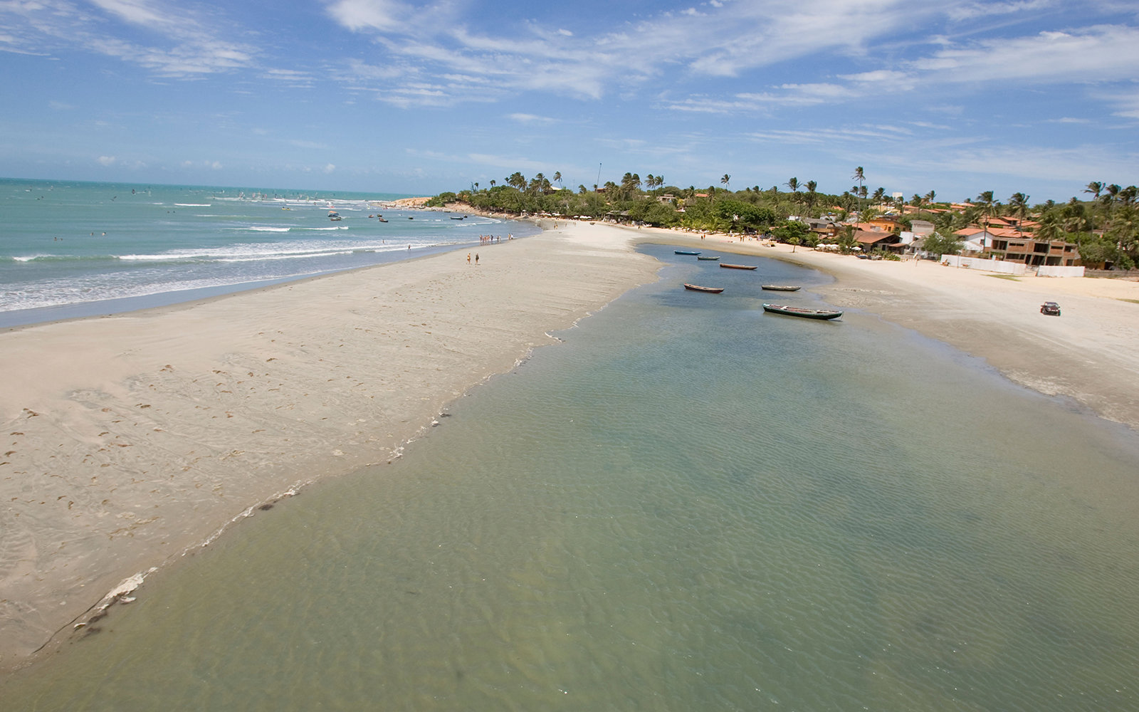 B7RPAH Jericoacoara Beach and Lagoa. Image shot 11/2007. Exact date unknown.
