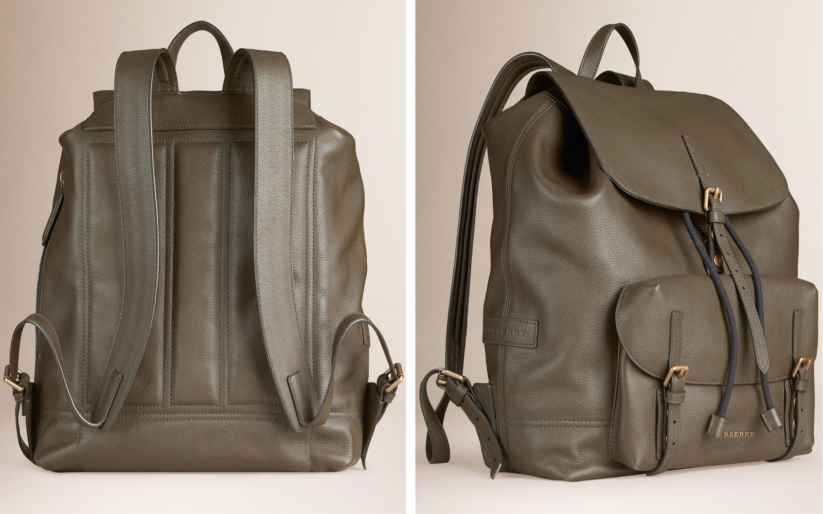 Burberry Leather Backpacks