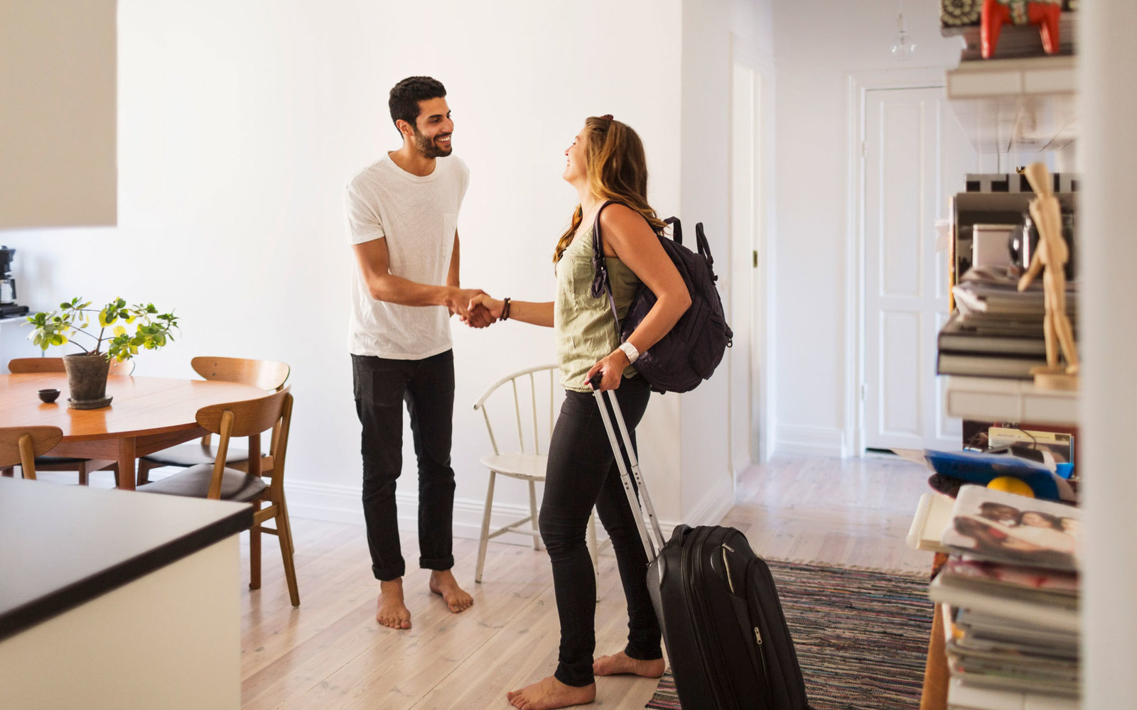 Host Greeting Renter